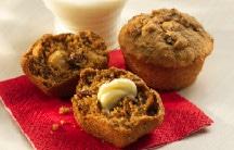 Applesauce Pinto Bean Muffins