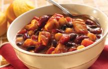 BBQ Chicken Triple Bean Chili