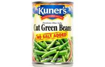 Cut Green Beans, No Salt Added