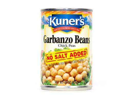 Garbanzo Beans, No Salt Added (15oz)
