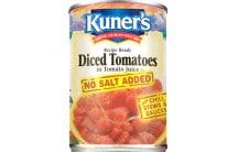 Diced Tomatoes No Salt