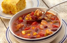 Baja Chicken Vegetable Soup