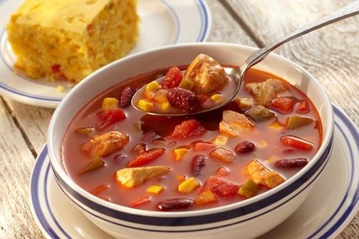 Baja Chicken Vegetable Soup