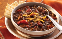 Chili with Black Chili Beans