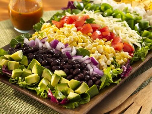 Santa fe cobb salad kuners foods recipes recipes santa fe cobb salad forumfinder Image collections