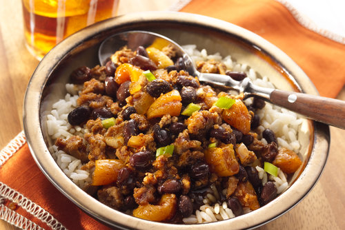 Apricot, Raisin, Turkey Chili