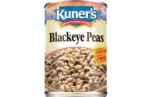 Blackeye Peas can