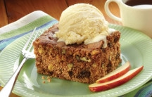 Apple Spice Bean Cake