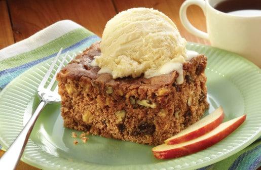 Apple Spice Bean Cake
