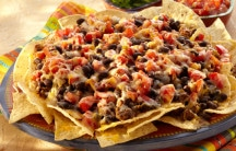Black Bean Nachos Supreme