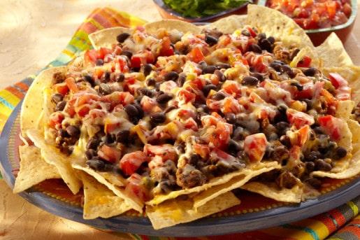 Black Bean Nachos Supreme Kuner S Foods Recipes
