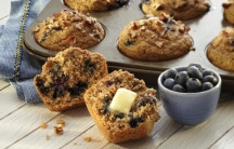 Blueberry Bean Muffins
