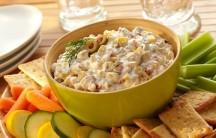 Creamy Olive & Corn Dip